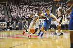 "Ole Miss' Derrick Millinghaus (3) vs. Kentucky's Jarrod Polson (5) at the C.M. ""Tad"" Smith Coliseum on Tuesday, January 29, 2013.  (AP Photo/Oxford Eagle, Bruce Newman).."