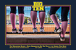 The Wolverines Clinch a Sixth Consecutive Big Ten Title in the Annual Pink Game<br />