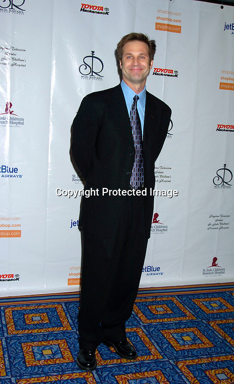 Jon Hensley ..at the 10th Annual Daytime Television Salutes St. Jude Children's Research Hospital Benefit on October 8, 2004 at the Marriott Marquis Hotel in New York City...Photo by Robin Platzer, Twin Images