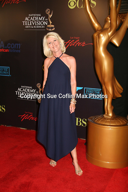 Ally Mills - Red Carpet - 37th Annual Daytime Emmy Awards on June 27, 2010 at Las Vegas Hilton, Las Vegas, Nevada, USA. (Photo by Sue Coflin/Max Photos)