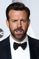 HOLLYWOOD, LOS ANGELES, CA, USA - MARCH 02: Jason Sudeikis at the 86th Annual Academy Awards - Press Room held at Dolby Theatre on March 2, 2014 in Hollywood, Los Angeles, California, United States. (Photo by Xavier Collin/Celebrity Monitor)