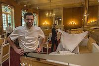 Europe/France/Midi-Pyrénées/32/Gers/Auch: Hôtel-Restaurant: L'Hôtel de France ,  Lucie et Vincent Casassus [Non destiné à un usage publicitaire - Not intended for an advertising use]
