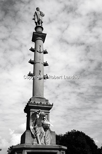 Statue at Columbus Circle in NewYork City