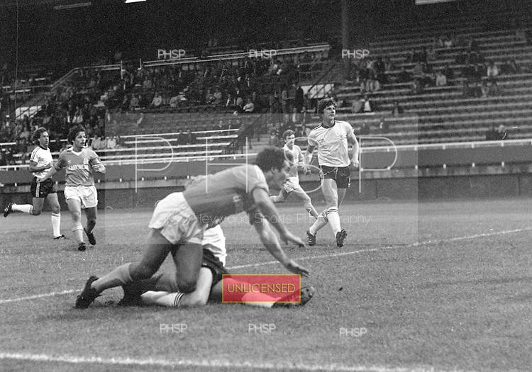 05/09/1980 Fulham v Blackpool League Division 3