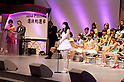 June 6, 2012, Tokyo, Japan - Speech of Yuki Kashiwagi, the third at election.  AKB General Election at Nippon Budokan. The biggest girl band in the world and Japan's most popular pop group elected its new leader in a nationwide election open to all fans. The collective is organised into different units which in turn are sometimes split into smaller groups. The night involved singing, games, tears and the eventual crowning of new leader Yuko Oshima from Team K with 108837 votes for most popular member..
