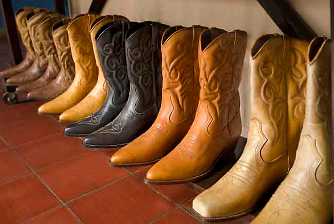 Cowboy Boots For Sale At The Masaya Market | Anthony John Coletti ...