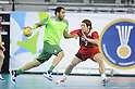 Daisuke Miyazaki (JPN), OCTOBER 31, 2011 - Handball : Daisuke Miyazaki of Japan plays during the Asian Men's Qualification for the London 2012 Olympic Games semifinal match between Japan 22-21 Saudi Arabia in Seoul, South Korea.  (Photo by Takahisa Hirano/AFLO)..