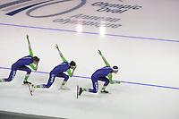 SPEEDSKATING: CALGARY: 12-11-2015, Olympic Oval, training, ©foto Martin de Jong