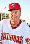 28 February 2010: Washington Nationals Pitching Coach Steve McCatty poses for his Spring Training photo at Space Coast Stadium in Viera, Florida. Mandatory Credit: Ed Wolfstein Photo
