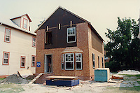1989 July 11..Infill Housing..707 West 28th Street.......CAPTION...NEG#.NRHA#..