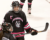 Lucie Povova (NU - 92) - The Northeastern University Huskies defeated the visiting Providence College Friars 8-7 on Sunday, January 20, 2013, at Matthews Arena in Boston, Massachusetts.