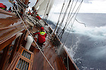 REGATES ROYALES 2007- PANERAI CLASSIC YACHT CHALLENGE- ONBOARD ALTAIR-TEMPEST STRIKES THE CLASSIC BOATS FLEET-SEPTEMBER 27-COPYRIGHT : THIERRYSERAY.COM