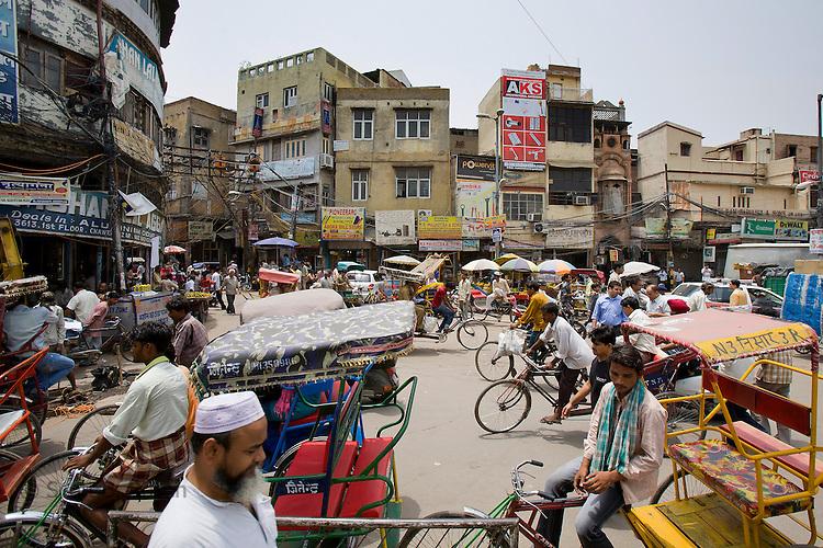 Street Life Old Delhi Scott B Rosen