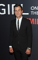 NEW YORK, NY - OCTOBER 4: Justin Theroux at 'The Girl On The Train' Premiere at Regal E-Walk on October 4, 2016 in New York City. Credit: John Palmer/MediaPunch