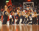 "Ole Miss Rebelettes at C.M. ""Tad"" Smith Coliseum in Oxford, Miss. on Saturday, December 4, 2010."