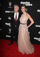 "Los Angeles, CA - NOVEMBER 22: Tom Bergeron, Erin Andrews, At ABC's ""Dancing With The Stars"" Season 23 Finale At The Grove, California on November 22, 2016. Credit: Faye Sadou/MediaPunch"