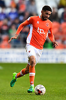 Blackpool's Kelvin Mellor in action<br /> <br /> Photographer Richard Martin-Roberts/CameraSport<br /> <br /> The EFL Sky Bet League Two Play-Off Semi Final First Leg - Blackpool v Luton Town - Sunday May 14th 2017 - Bloomfield Road - Blackpool<br /> <br /> World Copyright &copy; 2017 CameraSport. All rights reserved. 43 Linden Ave. Countesthorpe. Leicester. England. LE8 5PG - Tel: +44 (0) 116 277 4147 - admin@camerasport.com - www.camerasport.com