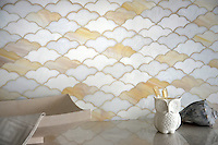 Clouds, a waterjet glass mosaic shown in Opal, Agate, and Moonstone, is part of the Erin Adams Collection for New Ravenna Mosaics.<br /> Take the next step: prices, samples and design help, http://www.newravenna.com/showrooms/