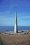 Monument To 1st Army Div. At Omaha Beach