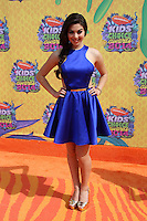 Kira Kosarin<br /> at Nickelodeon's 27th Annual Kids' Choice Awards, USC Galen Center, Los Angeles, CA 03-29-14<br /> David Edwards/DailyCeleb.Com 818-249-4998