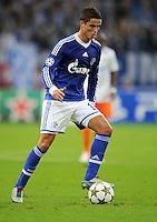 FUSSBALL   CHAMPIONS LEAGUE   SAISON 2012/2013   GRUPPENPHASE   FC Schalke 04 - Montpellier HSC                                   03.10.2012 Ibrahim Afellay (FC Schalke 04) Einzelaktion am Ball