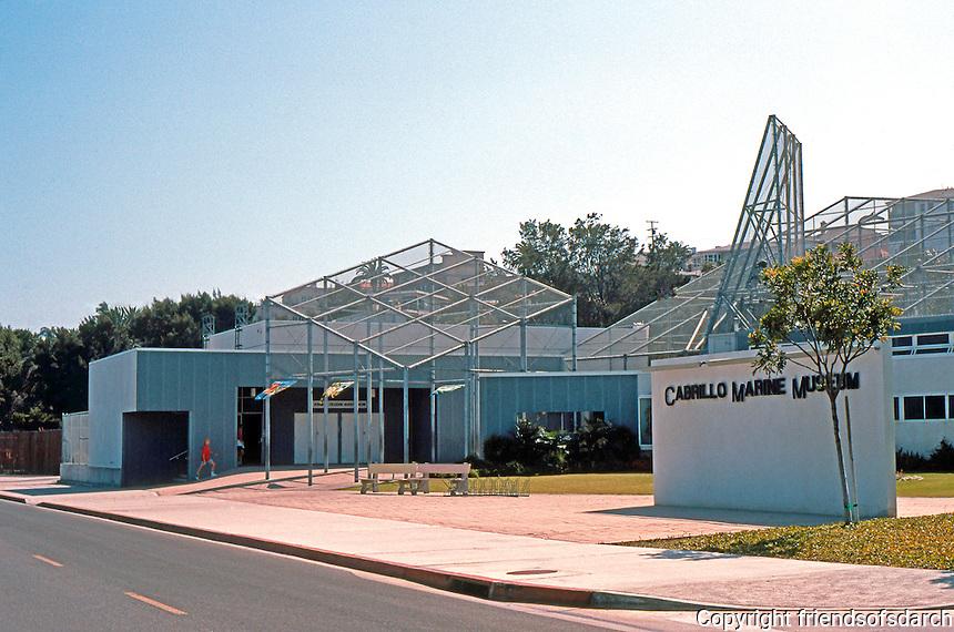 Frank Gehry: Cabrillo Marine Museum, San Pedro. 1981.  Photo '89.