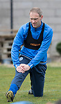 St Johnstone Training&hellip;14.04.17<br />Steven Anderson pictured during training at McDiarmid Park this morning ahead of tomorrow&rsquo;s game against Aberdeen.<br />Picture by Graeme Hart.<br />Copyright Perthshire Picture Agency<br />Tel: 01738 623350  Mobile: 07990 594431