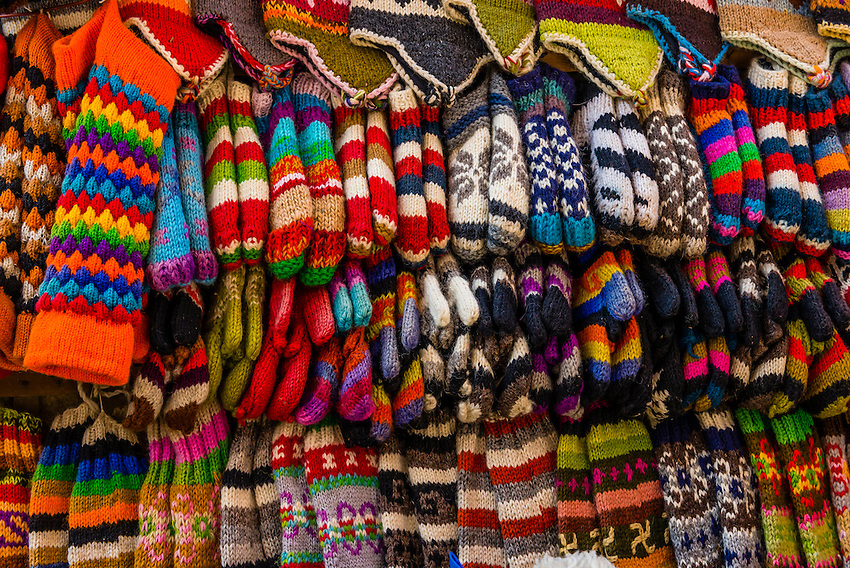 Nepal Woolen Products Woolen Products Outside a Shop
