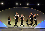 The Taps in Motion dance group performs during opening worship at the United Methodist Women's Assembly in the Kentucky International Convention Center in Louisville, Kentucky, April 25, 2014.