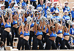 30 September 2006: Duke's dance team. The Duke University Blue Devils lost 37-0 to the University of Virginia Cavaliers at Wallace Wade Stadium in Durham, North Carolina in an Atlantic Coast Conference NCAA Division I College Football game.