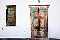A door to a house in Alghero, Sardinia