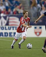 Chivas USA midfielder Blair Gavin (18) on the attack. Chivas USA defeated the New England Revolution, 4-0, at Gillette Stadium on May 5, 2010.