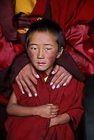 Tibet, Kham - Monks at Zunya Monastery, 2006