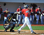Ole Miss' Alex Yarbrough (2) vs. North Carolina-Wilmington at Oxford-University Stadium in Oxford, Miss. on Sunday, February 26, 2012. Ole Miss won 10-5..