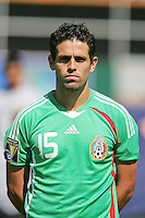 Jose Antonio Castro. Mexico defeated Nicaragua 2-0 during the First Round of the 2009 CONCACAF Gold Cup at the Oakland, Coliseum in Oakland, California on July 5, 2009.