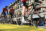 at sign on before the 101st edition of the Tour of Flanders 2017 running 261km from Antwerp to Oudenaarde, Flanders, Belgium. 26th March 2017.<br /> Picture: Eoin Clarke | Cyclefile<br /> <br /> <br /> All photos usage must carry mandatory copyright credit (&copy; Cyclefile | Eoin Clarke)