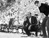 Frank Clair Ottawa Rough Riders head coach 1960. Copyright photograph Ted Grant