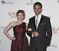 LOS ANGELES, CA - SEPTEMBER 27:  Megan Hilty and Brian Stokes Mitchell at the 2016/17 Los Angeles Philharmonic Opening Night Gala and Concert: Gershwin and the Jazz Age at the Walt Disney Concert Hall on September 27, 2016 in Los Angeles, California. Credit: mpi991/MediaPunch