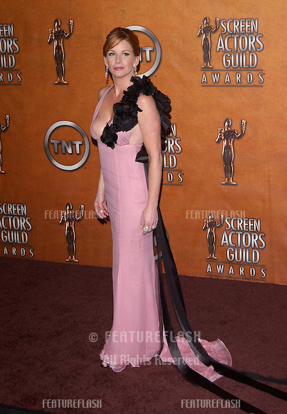 Feb 5, 2005; Los Angeles, CA: SAG president MELISSA GILBERT at the 11th Annual Screen Actors Guild Awards at the Shrine Auditorium.