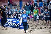 STEPHANIE GILMORE (AUS) finsihed 2nd. Bells Beach, Torquay Victoria, Australia (Sunday, April 12 2009) -The 2009 Rip Curl Women's Pro Bells Beach finished  today completed  in one meter waves along the Rincon section of Bells Beach. SILVANA LIMA (BRA) claimed her maiden WCT victory defeating defending event winner and current World Surfing Champion STEPHANIE GILMORE (AUS). This years event at the iconic Bells Beach is event number 2 of 8 on the 2009 ASP Women's World Tour and it is the longest running ASP event. Gilmore sits on top of the ratings with a win at the first event and a second at the Rip Curl Women's Pro. Photo: joliphotos.com