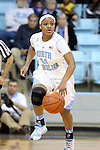 02 January 2014: North Carolina's Brittany Rountree. The University of North Carolina Tar Heels played the James Madison University Dukes in an NCAA Division I women's basketball game at Carmichael Arena in Chapel Hill, North Carolina.