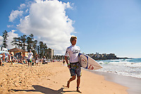 MANLY, NSW/Australia (Sunday, 19 February, 2012) Jesse Mendes (BRA). – The Australian Open of Surfing at Manly Beach presented by Hurley and Billabong was completed continued  with the Men's ASP 6-Star division, and the Women's ASP 6-Star division decided.  Matt Banting (AUS) defeated Evan Geiselman  (USA)in a tightly fought out the men's final while Sally Fitzgibbons (AUS) defeated Sofia Mulanovich (PRU) in the final women's. Massive crowds packed the beach at Manly today.  Photo: joliphotos.com