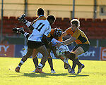 Australia get tough. Australia U20 V Fiji U20. IRB Junior Rugby World Cup 2008© Ian Cook IJC Photography iancook@ijcphotography.co.uk www.ijcphotography.co.uk.
