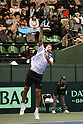 Ivo Karlovic (CRO), .February 12, 2012 - Tennis : .Davis Cup 2012, World Group 1st Round.match between Go Soeda 0-3 Ivo Karlovic (CRO) .at Bourbon Beans Dome, Hyogo, Japan. .(Photo by Daiju Kitamura/AFLO SPORT) [1045]