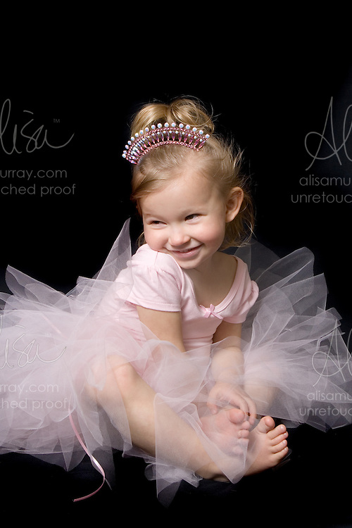 Childhood ballet tutu portrait photography alisa murray photography
