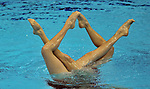 20/04/2012 - FINA Olympic Games Synchronised Swimming Qualification - Aquatics Centre - Olympic Park