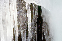 ICICLES<br /> Frozen Waterfall.South Mountain Preservation, Millburn NJ.