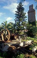 Ruins of El Molino, an old sugar mill in the Spanish colonial town of Todos Santos , Baja California Sur, Mexico