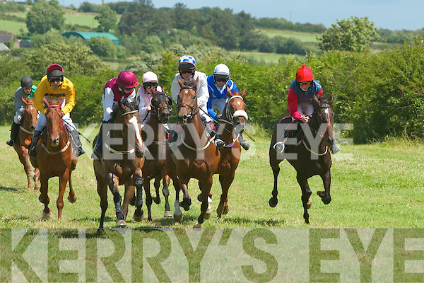 the races in aid of the Nano Nagle School in Duagh on Sunday