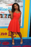 HOLLYWOOD, CA - AUGUST 01: Asia Monet Ray at the film premiere for 'Nine Lives' at the TCL Chinese Theatre on August 1, 2016 in Hollywood, California. Credit: David Edwards/MediaPunch